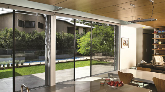 Centor solved the problem of screening large openings while preserving your views and your indoor-outdoor space with its retractable insect screen. & Space3 eco-screens from Centor
